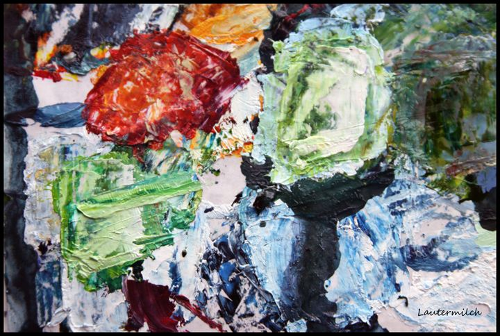 Palette Abstraction #6 - Paintings by John Lautermilch