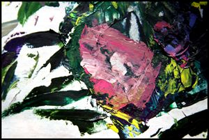 Palette Abstraction #11 - Paintings by John Lautermilch