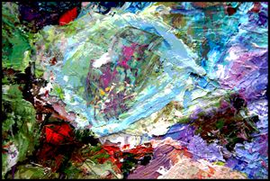 Palette Abstraction #17 - Paintings by John Lautermilch