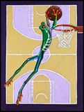 Slam Dunk - Paintings by John Lautermilch