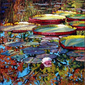 The Beginning of Fall - Paintings by John Lautermilch