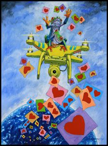 Love Note Reminders - Paintings by John Lautermilch