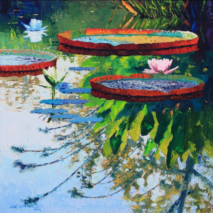 Colorful Reflections - Paintings by John Lautermilch