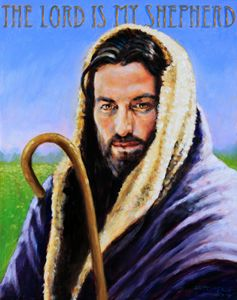 The Lord is My Shepherd - Paintings by John Lautermilch