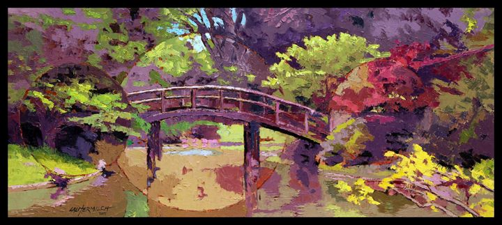 Bridge to Nowhere - Paintings by John Lautermilch