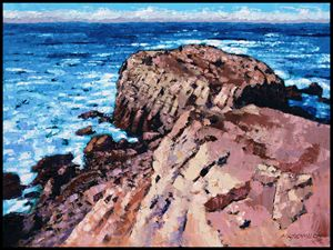 Rock Of Ages - Paintings by John Lautermilch