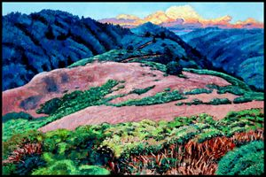 Patterns Along the Trail - Paintings by John Lautermilch