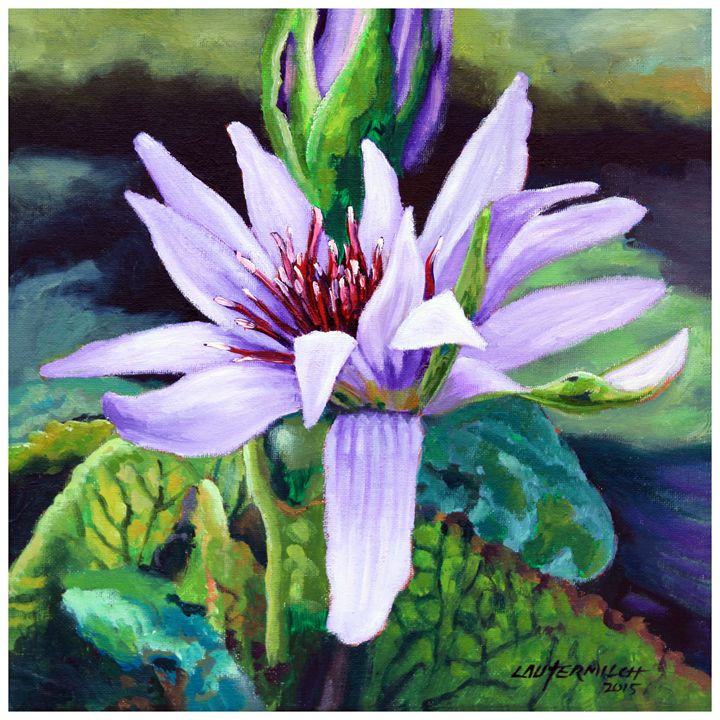 The Lily of the Valley - Paintings by John Lautermilch