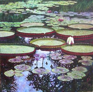 The Beauty of Stillness - Paintings by John Lautermilch