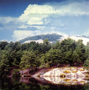 Stone Mountain Georgia - Paintings by John Lautermilch