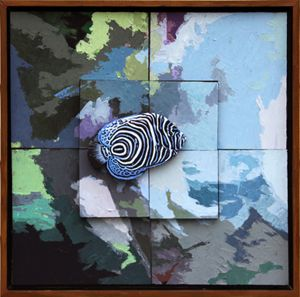 Tropical Fish #2 - Paintings by John Lautermilch