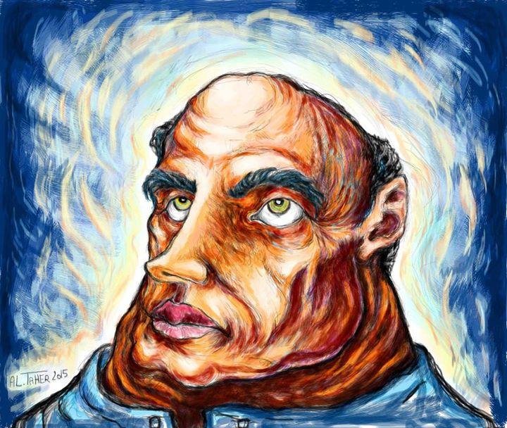the bald man - al taher saladin