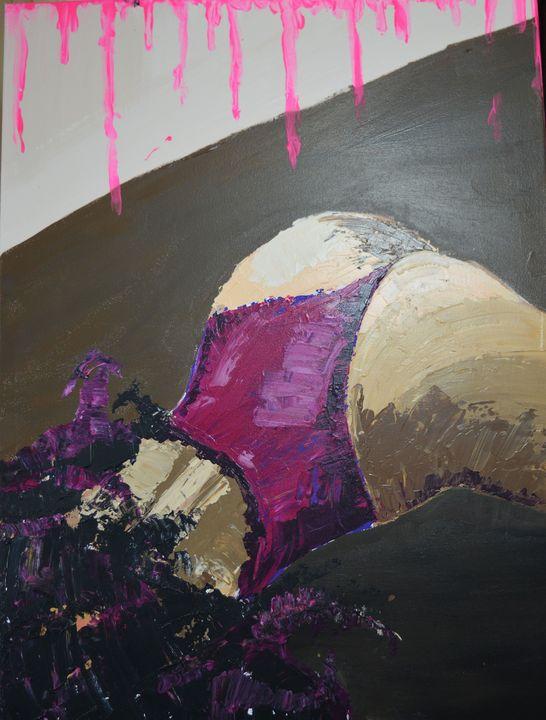 Pink - Lexie's paintings