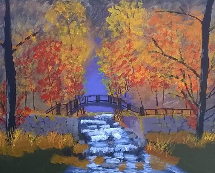 A welcome to Autumn - Artbycindyj