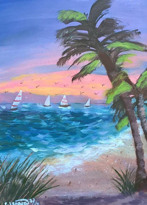 A day sailing - Artbycindyj