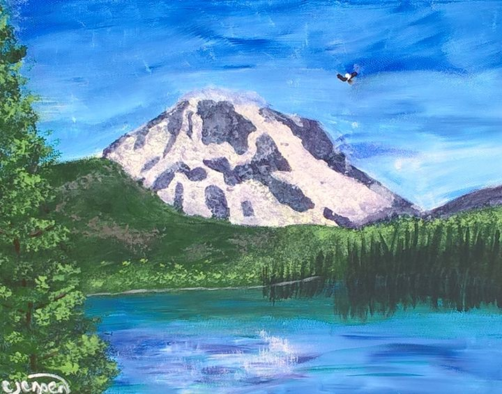 Green Lakes - Artbycindyj
