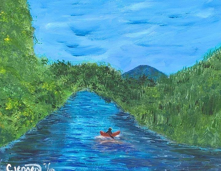 McKenzie River - Artbycindyj