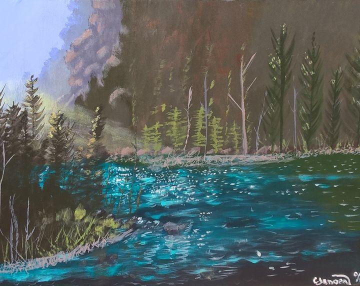 A Colorado river - Artbycindyj
