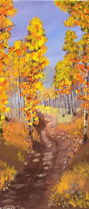 A road to Autumn - Artbycindyj