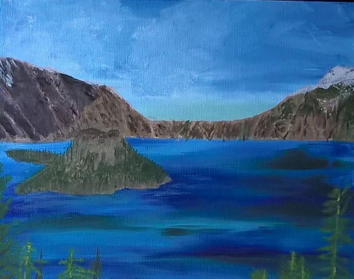Crater lake - Artbycindyj