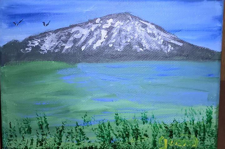 Mount Bachelor - Artbycindyj