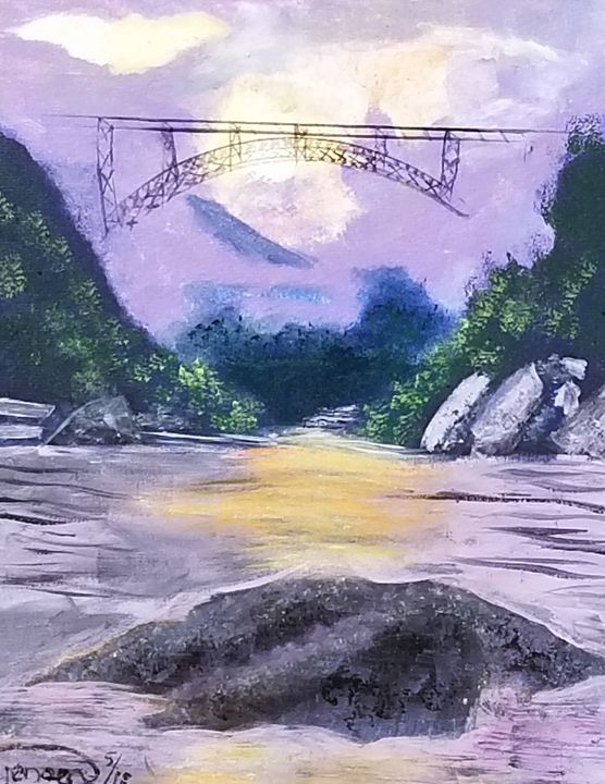 The bridge - Artbycindyj