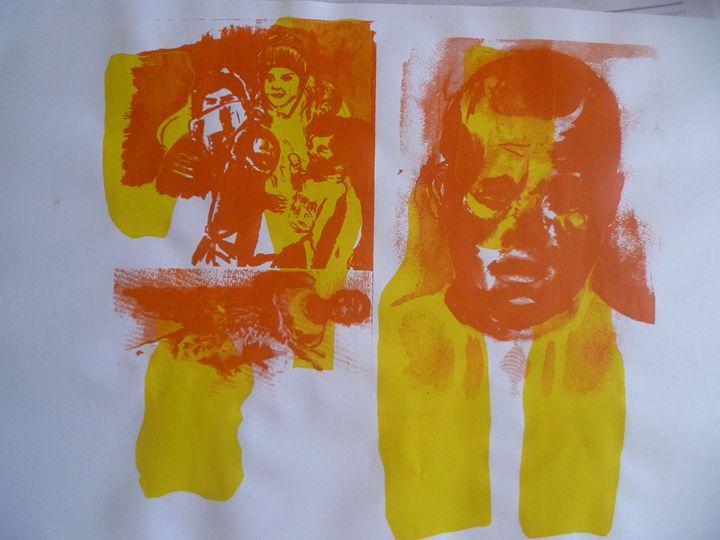 Spirit in Transit 2 - Advanced Diploma Printmaking