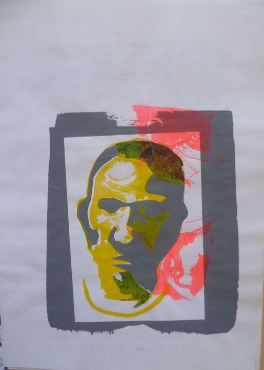 Message across the Sea 2 - Advanced Diploma Printmaking