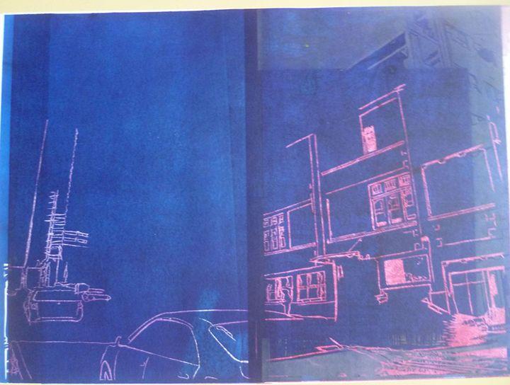Skate City Theme 3 - Advanced Diploma Printmaking
