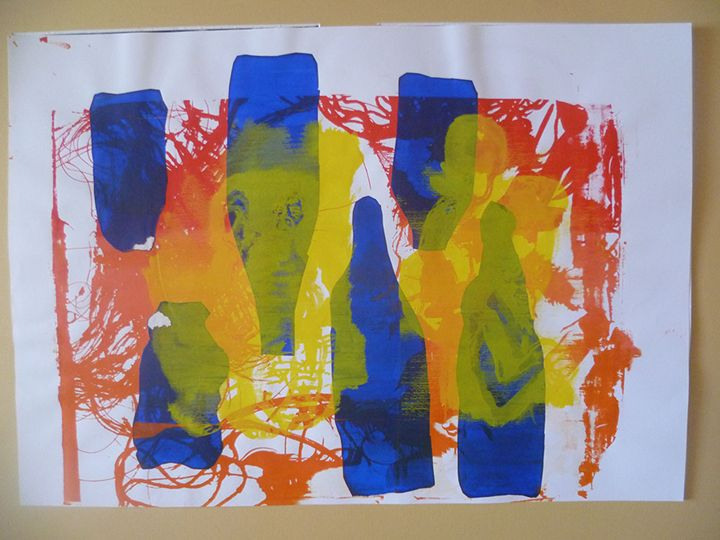 Message with Bottles - Advanced Diploma Printmaking