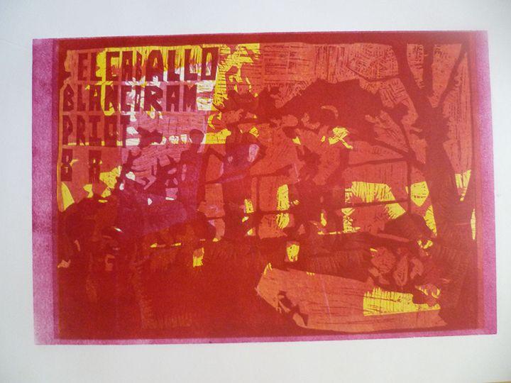 El Caballo Theme 2 - Advanced Diploma Printmaking