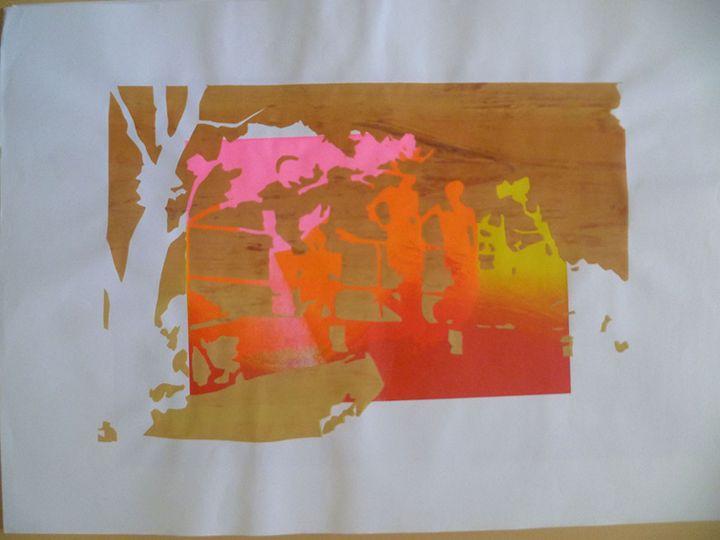 El Caballo Theme 1 - Advanced Diploma Printmaking