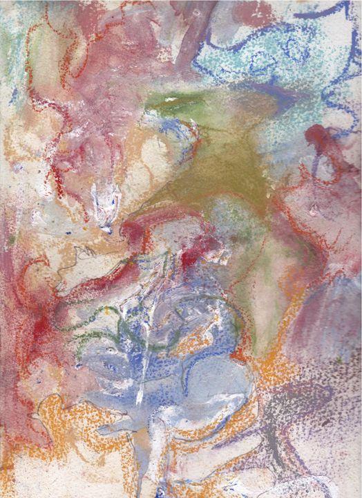 Sunday October - Art by Diana Holmes