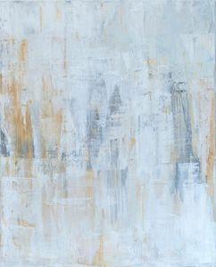 Original colorful abstract painting - Minkina