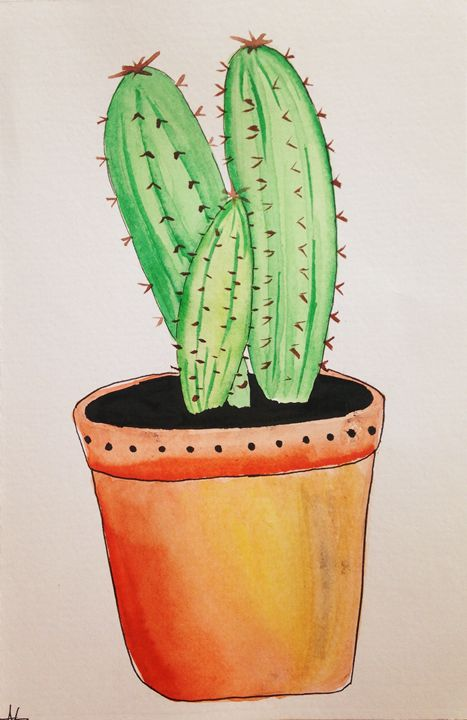 Cacti - Ashley's creations