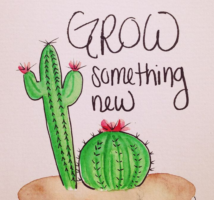 Grow something new - Ashley's creations