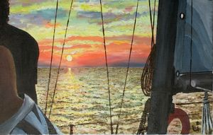 """""""Sunset in the Gulf"""""""