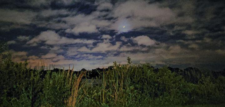 Nighttime over the lake - Rachel Csontos