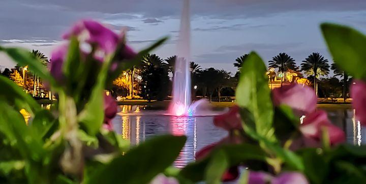 Tuscany Village Fountain - Rachel Csontos