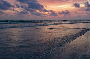 Redington Beach at Sunset