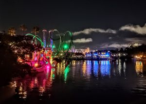 Roller Coasters on the Water