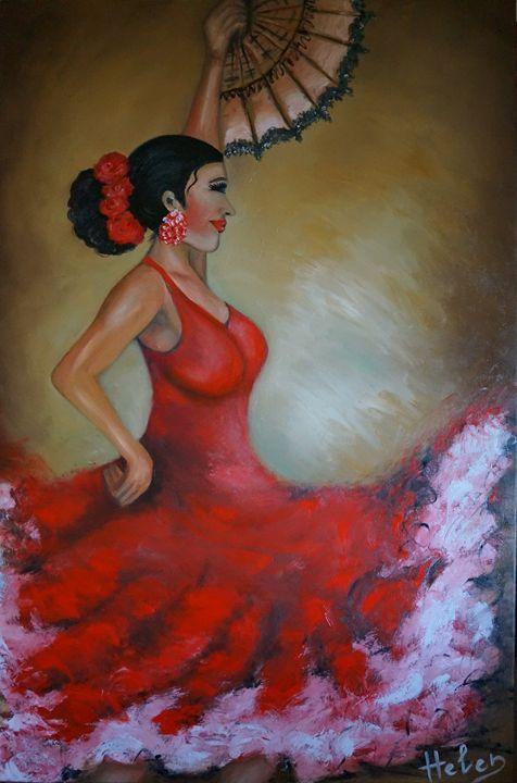 Flamenco lady - Helen Bellart