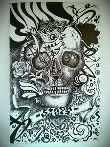 AmbigramMySkull