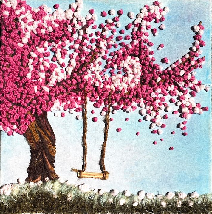 Cherry Blossom - Diana Lopez - Art