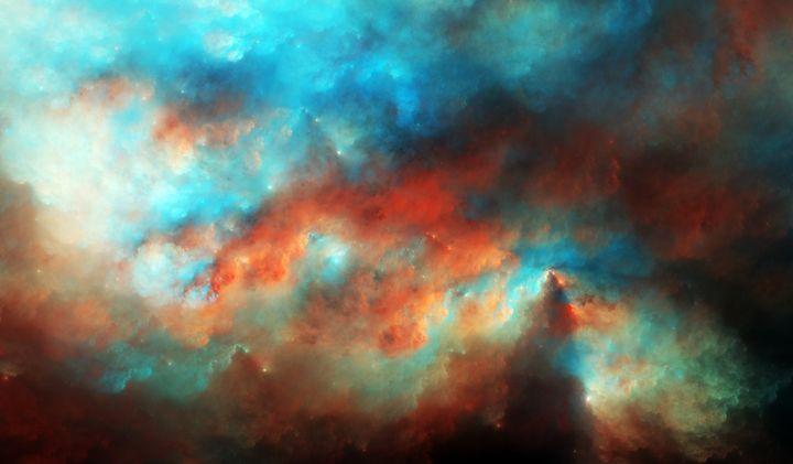 Dawnbreak Nebula - Fractions of Space