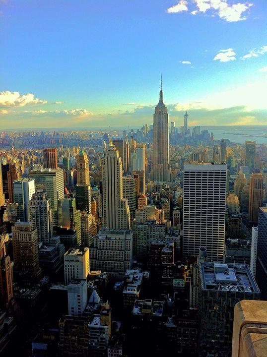 New York sunset - Patrick Freyer