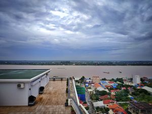 View from Rooftop at Phnom Penh