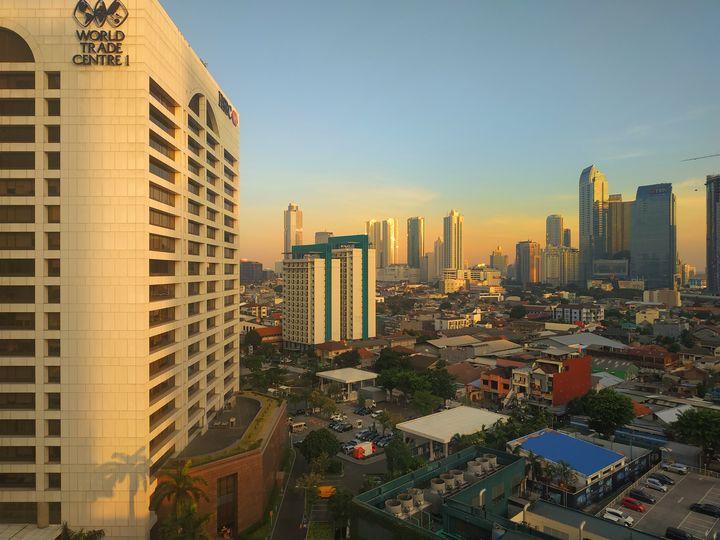 Skyscraper City View - Crafitty