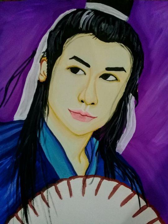 ANCIENT CHINESE SCHOLAR - LJG ART STUDIO