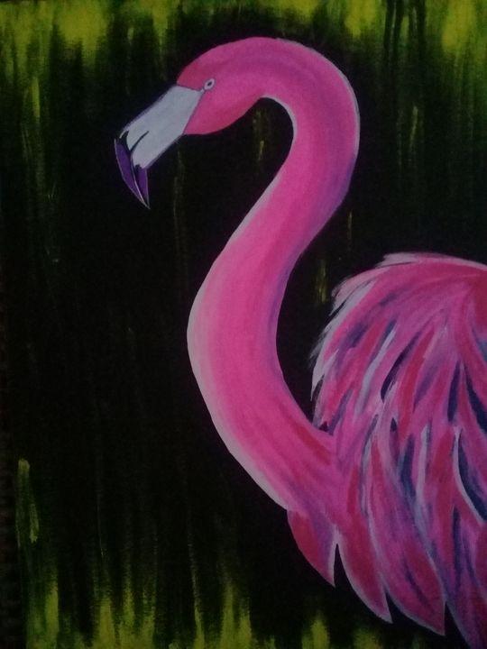 FLAMINGO - LJG ART STUDIO